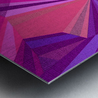 ABSRACT A MIX65 Metal print