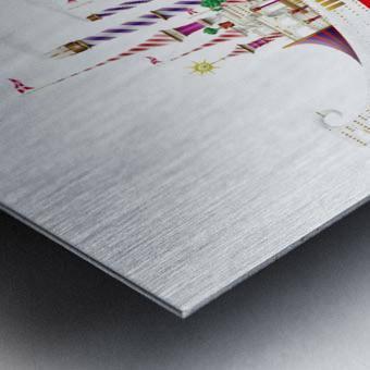 Crocciere Gondollino Metal print