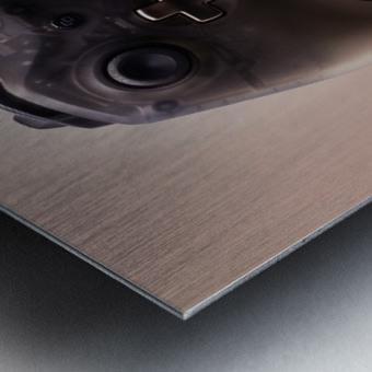 Gaming Controller v1 Metal print