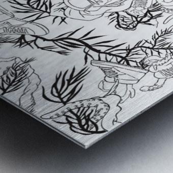 pieceofmyart5 Metal print