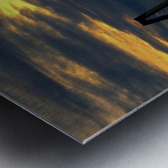 Ravanel Sunset Metal print