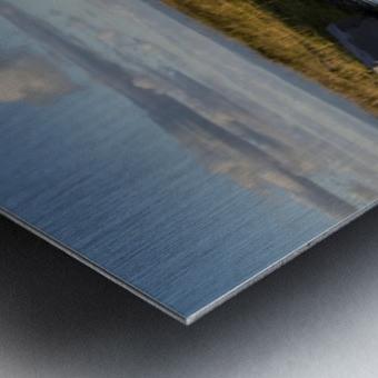 Black Mountain pool Metal print