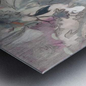 Riverton Wallpaper Panel I Metal print