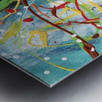 Colour Carnival III Metal print