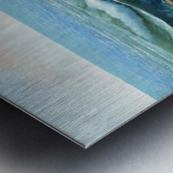 Rolling Breakers Metal print