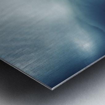 Psychedelic sky Metal print