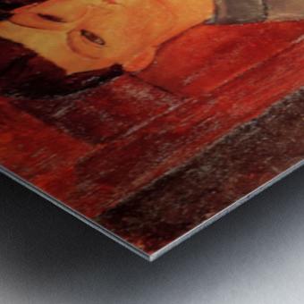Modigliani - Portrait of Moise Kisling -3- Metal print