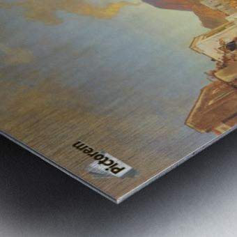 View of Naples Metal print