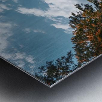 Vantage of the Inner Speaker Metal print