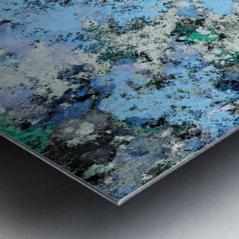 Big water Metal print