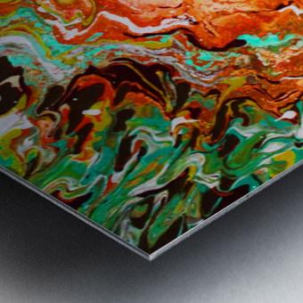 Rust Canyon Metal print
