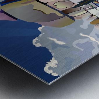 Earth Bound Metal print