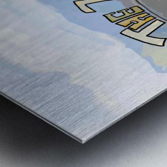The Yearning Metal print