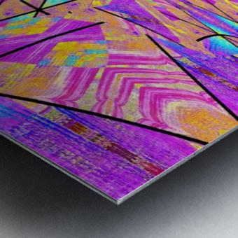 Lotus In Glass 2 Metal print