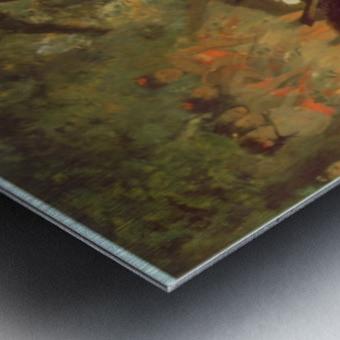 Musicians by Degas Metal print