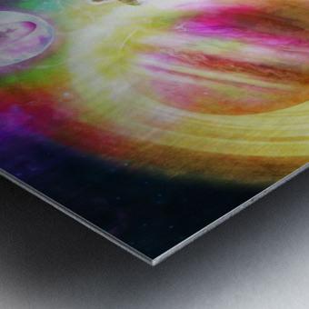Waterborne Metal print