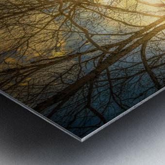Riviere Matapedia Amqui Impression metal