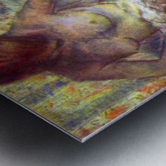 Nude Woman by Degas Metal print