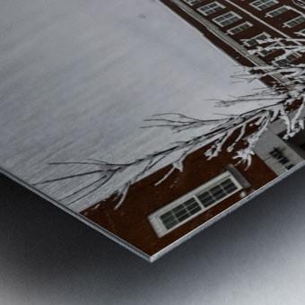 White Chapel-- Winter Metal print