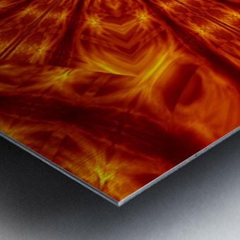 Fire Flowers 56 Metal print