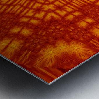Fire Flowers 146 Metal print