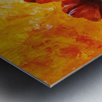 Edit Voros Red Poppies 006 Metal print