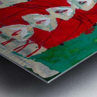 Yesterday You Said You Love Lilies Metal print