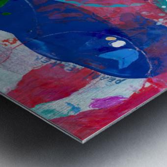 Pearl Seeker Metal print