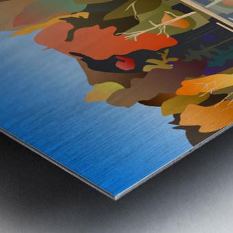 Crystal Lake Metal print