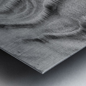 Sandy Waves Metal print