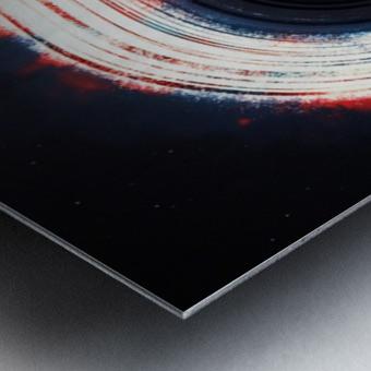 Black Hole Metal print