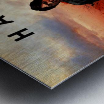 Han Lue Metal print