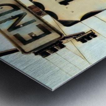 Beginingoftheend Metal print