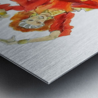 Zambra Mora Metal print