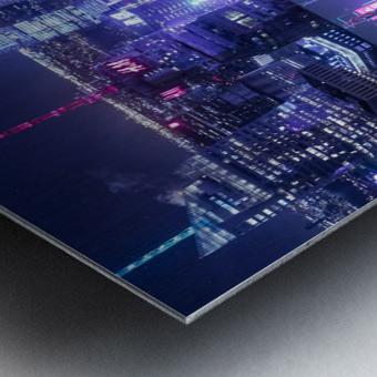 Oblivion City Metal print