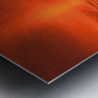 Big Ditch Sunset Metal print