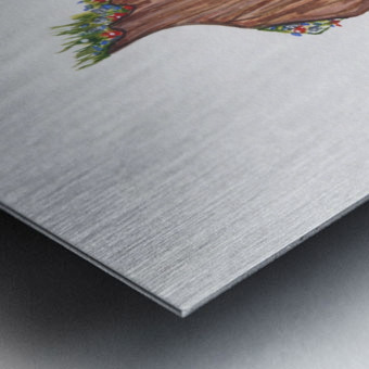 Brandy-Beauty Within Metal print