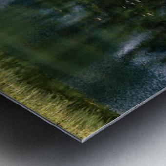 Monet style 3 Metal print