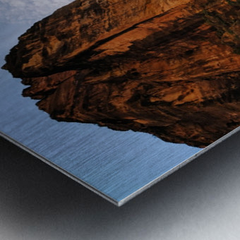 Zion Catching Rays Metal print