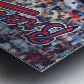 1988  Atlanta Braves Dale Murphy  Metal print