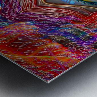 LOOKING GLASS Metal print