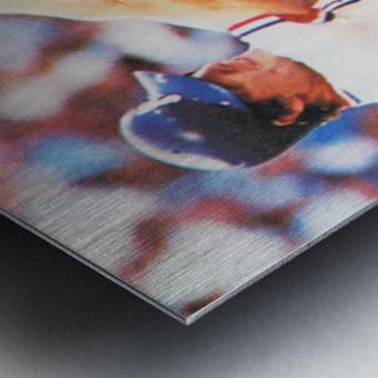 1983 Atlanta Braves Dale Murphy Metal print