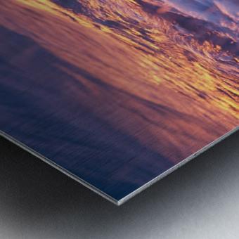 Lake Erie waves 3 Metal print