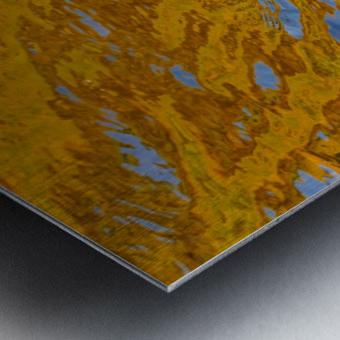 Flowing reflections 2 Metal print