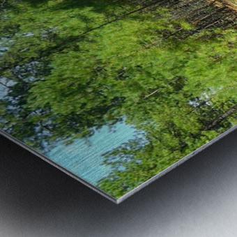 Deeper In Metal print