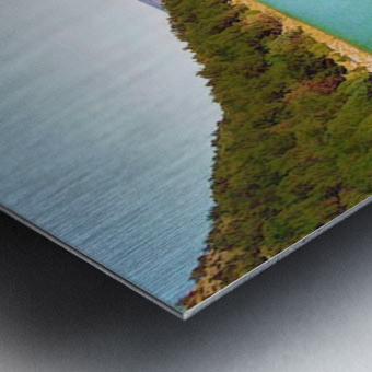 Utah Lake Impression metal