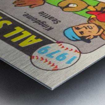 1979 All Star Game Baseball Art Metal print