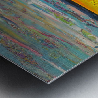 arcadia Panel 2 Metal print