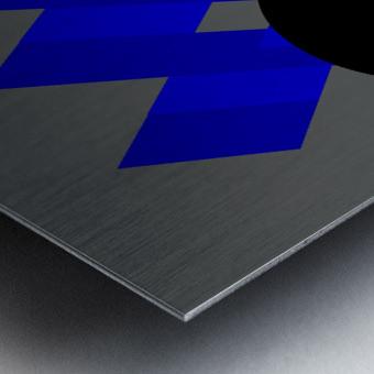 Graphics 1 Metal print