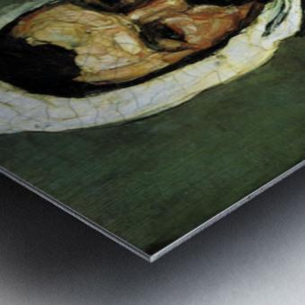 Portrait of Uncle Dominique as a monk by Cezanne Metal print